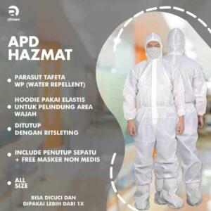 Seragam APD Hazmat Suit